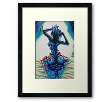 Waking Nude Framed Print