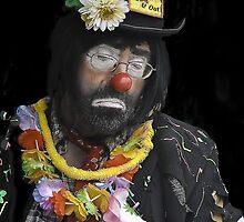 Clown Portrait by heatherfriedman