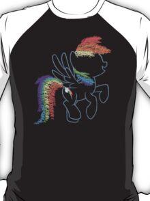 Sprayed Rainbow Dash T-Shirt