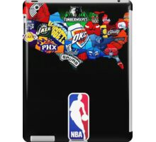 club basket ball - formation art NBA iPad Case/Skin