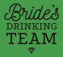 Brides Drinking Team One Piece - Short Sleeve