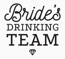 Brides Drinking Team Kids Tee
