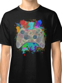 Painted Xbox 360 Controller Classic T-Shirt