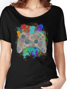 Painted Xbox 360 Controller Women's Relaxed Fit T-Shirt