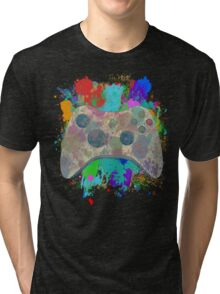 Painted Xbox 360 Controller Tri-blend T-Shirt