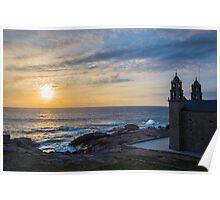 Costa da Morte - Galicia in Spain Poster