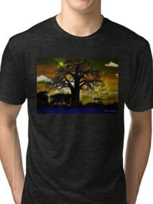 Silhouette Sizzle  Tri-blend T-Shirt