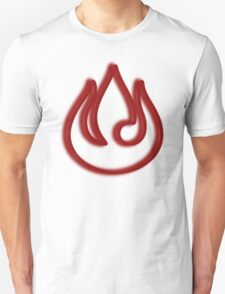 Minimalist Fire Nation Emblem T-Shirt