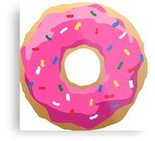Simpsons Iconic Doughnut  Metal Print