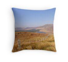 Connemara Bog Landscape  Throw Pillow