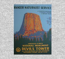 National Park Service WPA Poster - Devil's Tower Classic T-Shirt