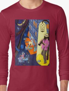 New Orleans, here music is being born, every day anew (My dreams of America, part 2) Long Sleeve T-Shirt