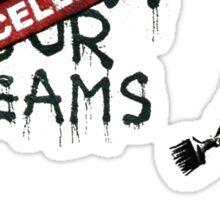 Banksy - Follow your dreams Sticker