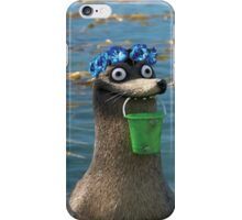 Gerald Finding Dory Blue Flower Crown iPhone Case/Skin