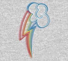 Rainbow Dash Cutie Mark Kids Clothes