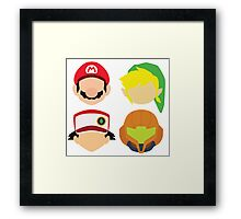 Nintendo Greats Framed Print