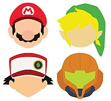 Nintendo Greats Photographic Print