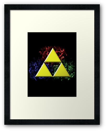 Smoky Triforce by Colossal