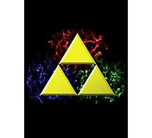Smoky Triforce Photographic Print