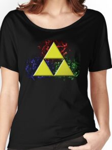 Smoky Triforce Women's Relaxed Fit T-Shirt