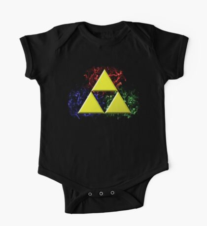 Smoky Triforce One Piece - Short Sleeve