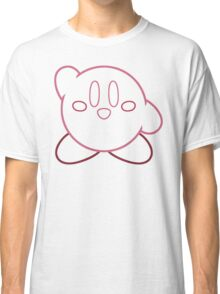 Minimalist Kirby With Face Classic T-Shirt