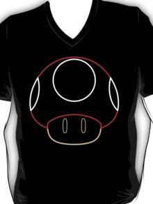 More Minimalist Mario Mushroom T-Shirt