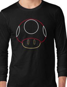 More Minimalist Mario Mushroom Long Sleeve T-Shirt