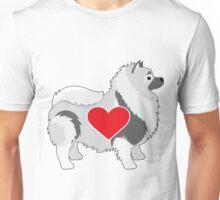Keeshond Unisex T-Shirt