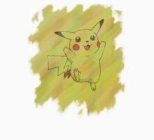 Watercolour Pikachu Kids Clothes