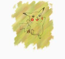 Watercolour Pikachu T-Shirt