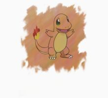 Watercolour Charmander Kids Clothes