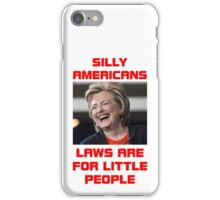 HILLARY LITTLE PEOPLE iPhone Case/Skin