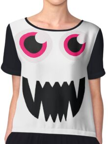 Monster Cartoon Tshirts Chiffon Top