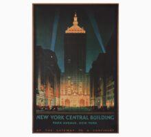 New York City Vintage Travel Poster Baby Tee