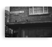 Brick Lane, London Canvas Print
