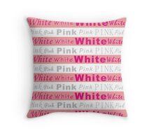 Stripes - Pink (light) Throw Pillow