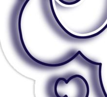 Luna Cutie Mark Sticker