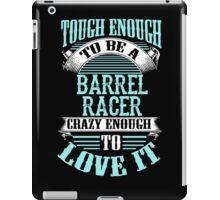 BARREL RACER iPad Case/Skin