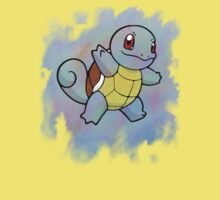 Watercolour Squirtle Kids Clothes
