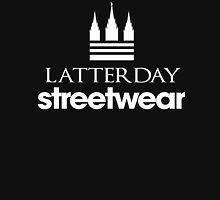 Latter Day Streetwear (White on black ) - LDStreetwear Unisex T-Shirt
