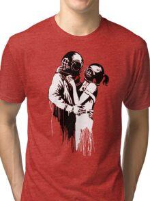 Banksy - Think Tank Tri-blend T-Shirt