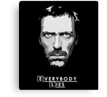 House M.D. - Everybody Lies Canvas Print
