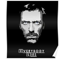House M.D. - Everybody Lies Poster