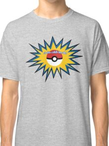 Pokeball splat Classic T-Shirt