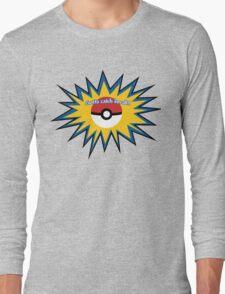 Pokeball splat Long Sleeve T-Shirt