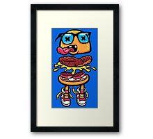 Nerd Burger For Nerd People Framed Print