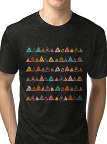 Abstract hand-drawn pattern. Tri-blend T-Shirt