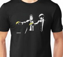 Banksy - Pulp Fiction Banana Guns Unisex T-Shirt