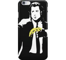 Banksy - Pulp Fiction Banana Guns iPhone Case/Skin